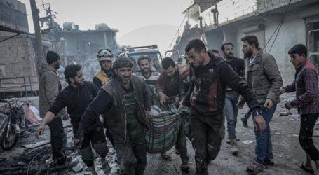 Δέκα άμαχοι έχασαν τη ζωή τους μετά από αεροπορικές επιδρομές στην Ιντλίμπ