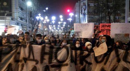 Διαμαρτυρία στα Σκόπια για την ατμοσφαιρική ρύπανση