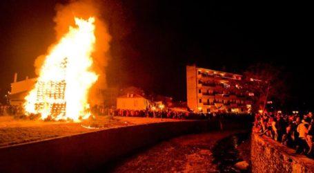 Έθιμο Χριστουγέννων: Οι φωτιές στη Φλώρινα