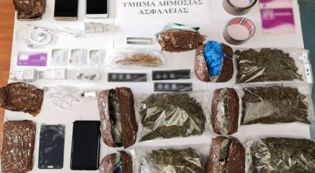Συνελήφθη σωφρονιστικός υπάλληλος με ναρκωτικά και κινητά τηλέφωνα