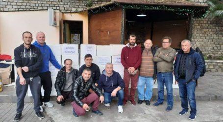 Ανθρωπιστική βοήθεια στους σεισμόπληκτους της Αλβανίας από τον Δήμο Καβάλας