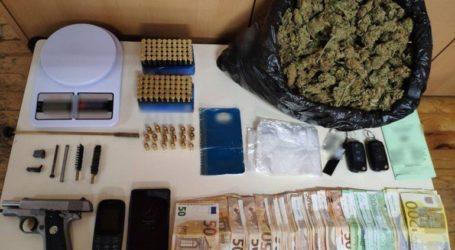 Συνελήφθη 44χρονος με ένα κιλό κάνναβη