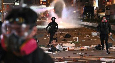 Η αστυνομία έκανε χρήση δακρυγόνων κατά των διαδηλωτών