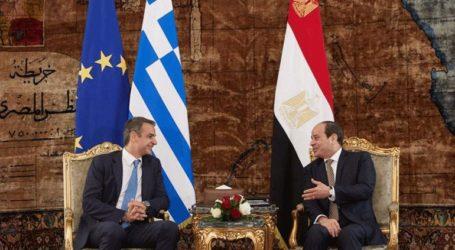 Τηλεφωνική επικοινωνία Μητσοτάκη με τον Αιγύπτιο Πρόεδρο Αμπντέλ Φατάχ αλ Σίσι