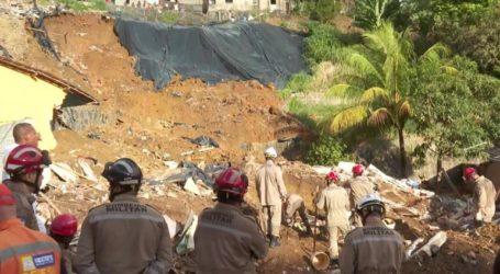 Επτά νεκροί από κατολίσθηση στη Βραζιλία
