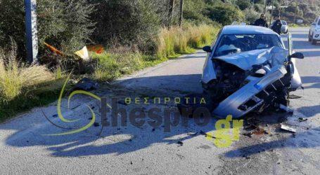 Σοβαρό τροχαίο ατύχημα στην Ηγουμενίτσα