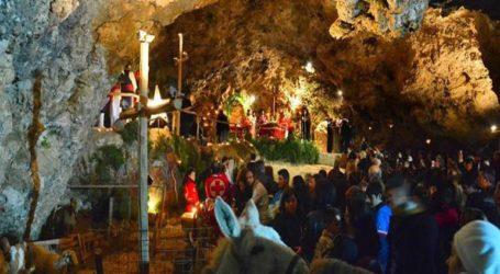 Χριστούγεννα στο σπήλαιο της Μαραθοκεφάλας