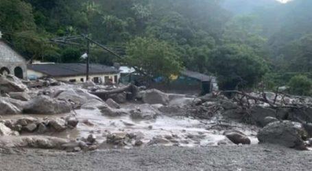 Οκτώ αγνοούμενοι από κατολίσθηση λάσπης στην Κολομβία