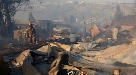 Σε εμπρησμό οφείλεται η πυρκαγιά που κατέστρεψε 245 σπίτια στο Βαλπαραΐσο