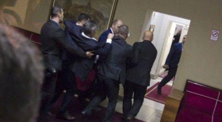 Επεισόδια στο κοινοβούλιο του Μαυροβουνίου