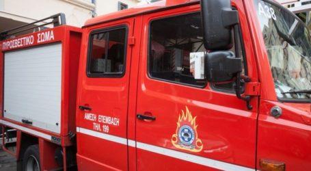 Φωτιά σε μονοκατοικία -Πυροσβέστες απομάκρυναν ηλικιωμένη