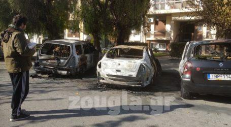 Κάηκαν τρία σταθμευμένα ΙΧ στα Ιλίσια