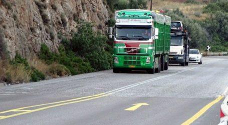 Απαγόρευση κυκλοφορίας των φορτηγών στην Ε. Ο Αθηνών- Λαμίας στο Σχηματάρι