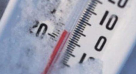 Σε ποιες περιοχές ο υδράργυρος έδειξε -10 βαθμούς Κελσίου
