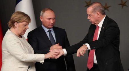 Επικοινωνία Μέρκελ με Πούτιν και Ερντογάν για τη Λιβύη
