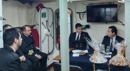 Επίσκεψη Ν. Μηταράκη σε στρατιωτικές μονάδες στη Χίο