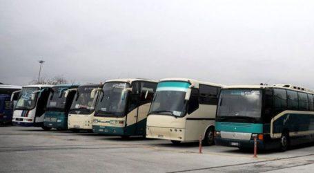 Απαγόρευση κυκλοφορίας των λεωφορείων στην Αθηνών