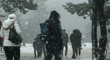 Παγωνιά και χιόνια φέρνει ο νέος χρόνος