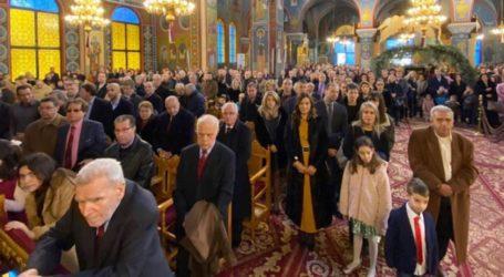 Δεύτερη Θεία Λειτουργία τελέστηκε τα Χριστούγεννα στον Άγιο Νικόλαο Λάρισας (φωτο)