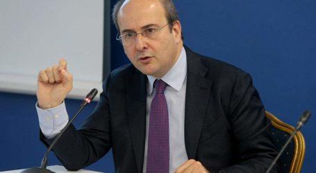 Συνάντηση εργασίας του Συνδέσμου Βιομηχανιών Θεσσαλίας με τον Κ. Χατζηδάκη