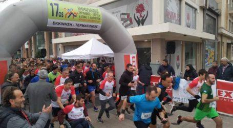 """Πλήθος Λαρισαίων έτρεξε το πρωί της Κυριακής στο …πρόγευμα του Ημιμαραθωνίου """"Τύρναβος – Λάρισα"""" των 5χλμ (φωτο – βίντεο)"""