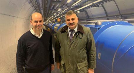 Τις εγκαταστάσεις του CERN επισκέφθηκε ο δήμαρχος Νοτίου Πηλίου