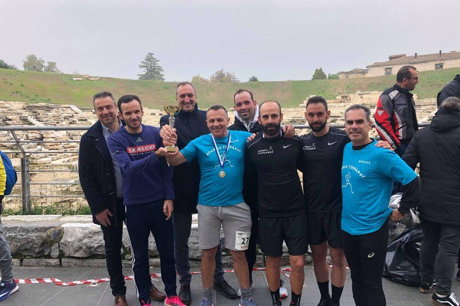 Με επιτυχία διεξήχθη ο ημιμαραθώνιος Τύρναβος - Λάρισα