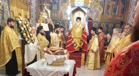 Γιορτάζει αύριο ο Αγ. Σπυρίδων – Μέγας Πανηγυρικός Εσπερινός τελέστηκε απόψε [εικόνες]