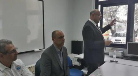 Στη Λάρισα ο πρόεδρος του ΕΚΑΒ – Τι συζήτησε με τους εργαζόμενους (φωτο)