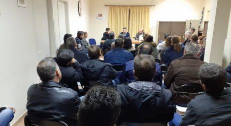 Συνάντηση με τους αγρότες του Πουρίουείχε ο βουλευτής Χ. Μπουκώρος