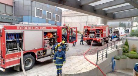 """Βόλος: Καρέ – καρέ η """"φωτιά"""" στο Κέντρο Αποκατάστασης «Κένταυρος» – Όλα όσα έγιναν στην άσκηση [εικόνες]"""