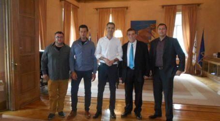 Τον Δήμαρχο Αθηναίων Κ. Μπακογιάννη επισκέφθηκαν μέλη του Ινστιτούτου Ανάπτυξης Πηλίου