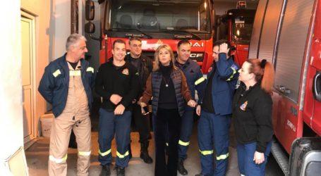 Ευχές στους πυροσβέστες