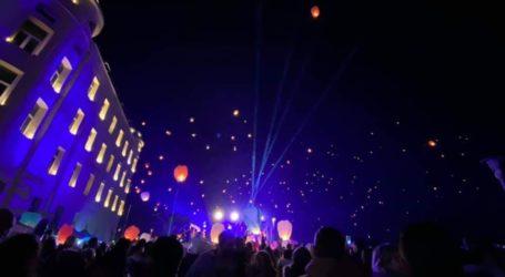 Υπερθέαμα στον Βόλο – Χιλιάδες χάρτινα φαναράκια φώτισαν τον ουρανό! [εικόνες]