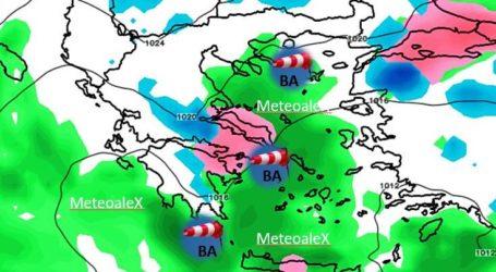 Μαγνησία: Η σημερινή πρόγνωση του καιρού – Που πρόκειται να χιονίσει [χάρτης]