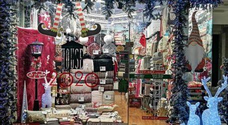 Βόλος: Οι τρεις καλύτερες Χριστουγεννιάτικες Βιτρίνες της αγοράς από το διαγωνισμό