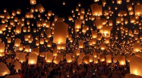 Χιλιάδες Βολιώτες θα στείλουν απόψε ευχές με φαναράκια στον ουρανό – Μαγευτικό θέαμα στην παραλία