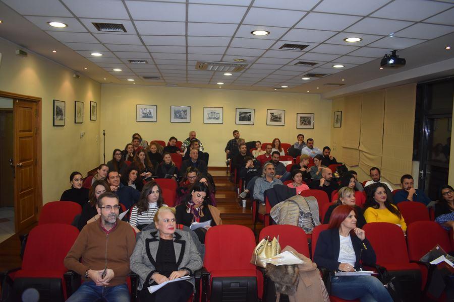 Σεμινάριο για το Social Media Marketing πραγματοποιήθηκε στο Επιμελητήριο Λάρισας (φωτο)