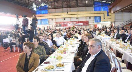 Δ. Κουτσούμπας από Λάρισα: «Η κυβέρνηση λογαριάζει χωρίς τον ξενοδόχο αν νομίζει πώς θα βγει άβρεχτη από την πολιτική που εφαρμόζει» (φωτο)