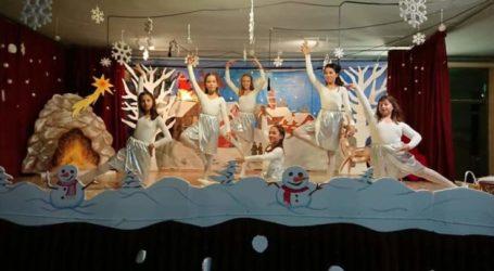 «Όνειρο στο χιόνι…» – Χριστουγεννιάτικη γιορτή στο 16ο Δημοτικό Σχολείο Λάρισας