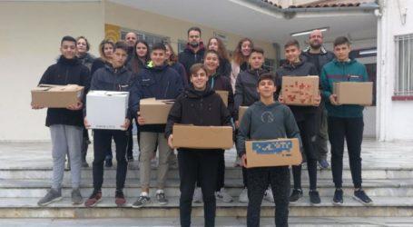 Χριστουγεννιάτικες Δράσεις αλληλεγγύης από το 9ο Γυμνάσιο Λάρισας