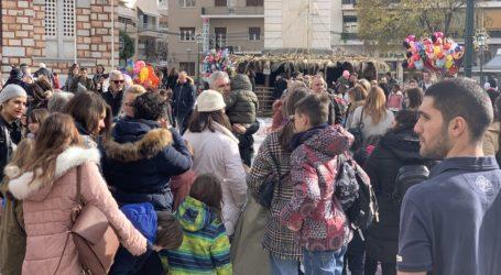 Το αδιαχώρητο στη γιορτή για τα παιδιά του Δήμου Βόλου [εικόνες]