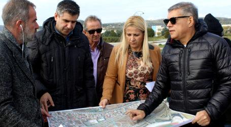 Αυτοψία και τεχνική σύσκεψη για την κατασκευή του νέου ποδηλατοδρομίου στον Βόλο [εικόνες]