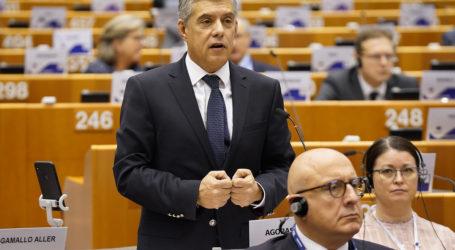 Παρέμβαση Αγοραστού για το μεταναστευτικό ενώπιον του Ευρωπαίου Επιτρόπου απασχόλησης και κοινωνικών δικαιωμάτων