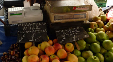 Κανονικά σε λειτουργία αύριο Σάββατο η Λαϊκή Αγορά Τυρνάβου