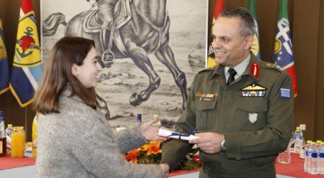 Εκδήλωση βράβευσης μαθητών στην 1η Στρατιά