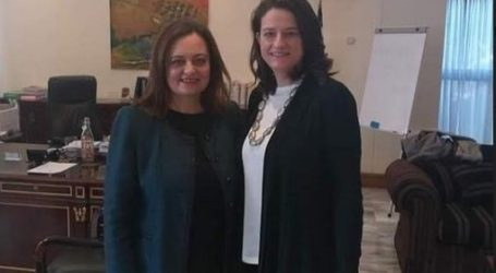 Συναντήσεις της Αντιδημάρχου Βόλου Γεωργίας Μποντού Τοκαλή στο Υπουργείο Παιδείας και Θρησκευμάτων