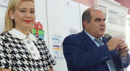 Σε εκδήλωση της Unesco για παιδιά απόρων οικογενειών στην Αθήνα η Λητώ Τσακίρη