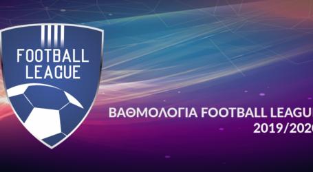 Τα αποτελέσματα και η βαθμολογία της Football League