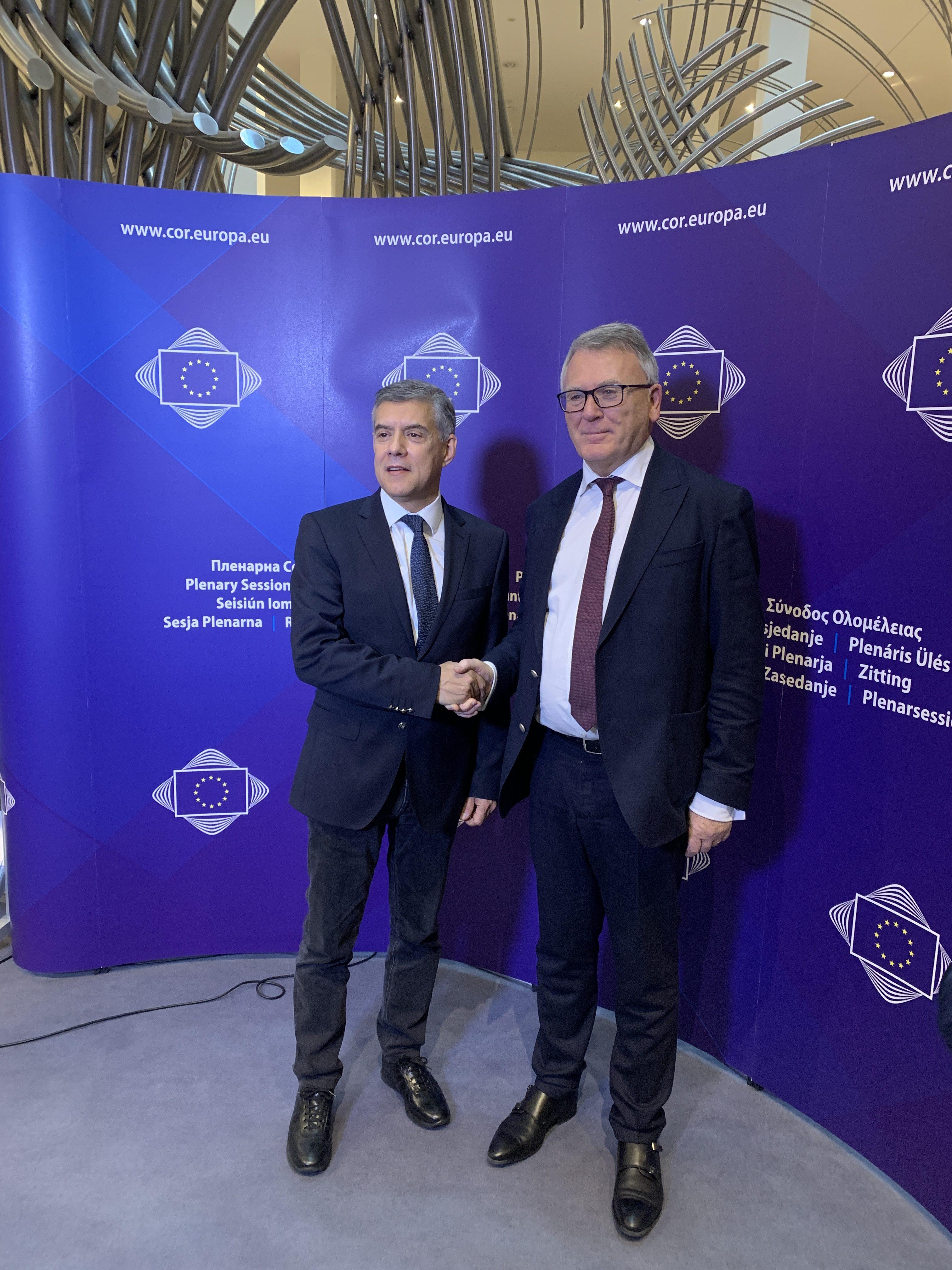 Ο Αγοραστός στην Ολομέλεια της Επιτροπής των Περιφερειών στις Βρυξέλλες: Παρέμβαση για το μεταναστευτικό